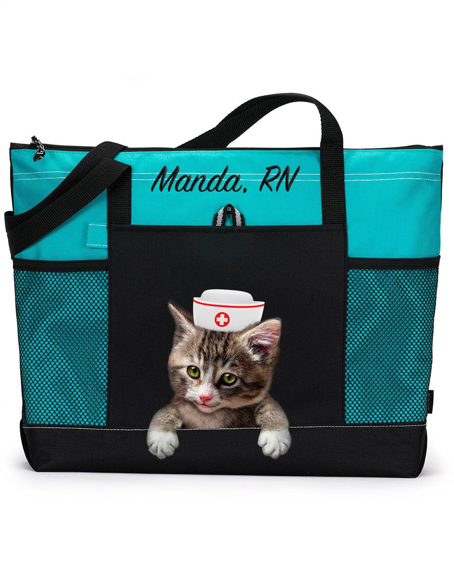 Cat Nurse Tote