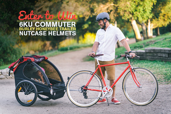 Win a FREE 6KU Odyssey or Odessa, a Burley Trailer, and Nutcase helmets!