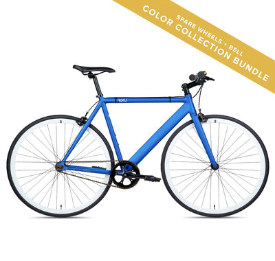 6KU Navy Urban Track, Wheelset Color Collection Bundle