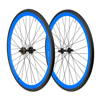 6KU Front+Rear Wheelset