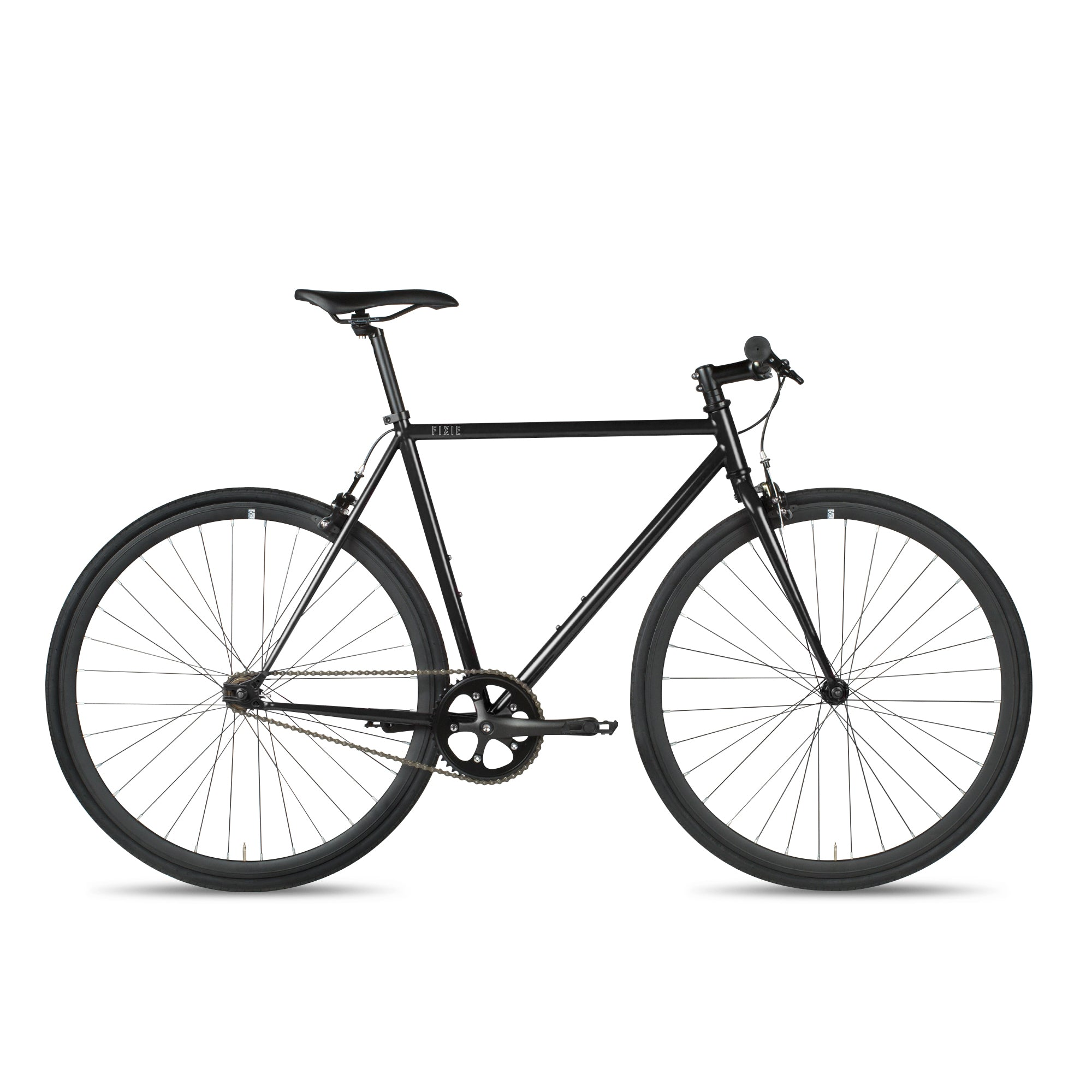 6KU black fixie bike