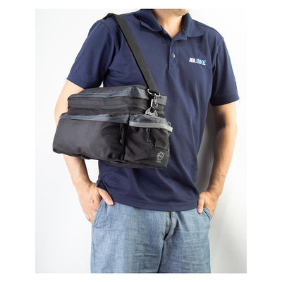 Sunlite Utili-T Rackbag II Expandable Rack-top Bag