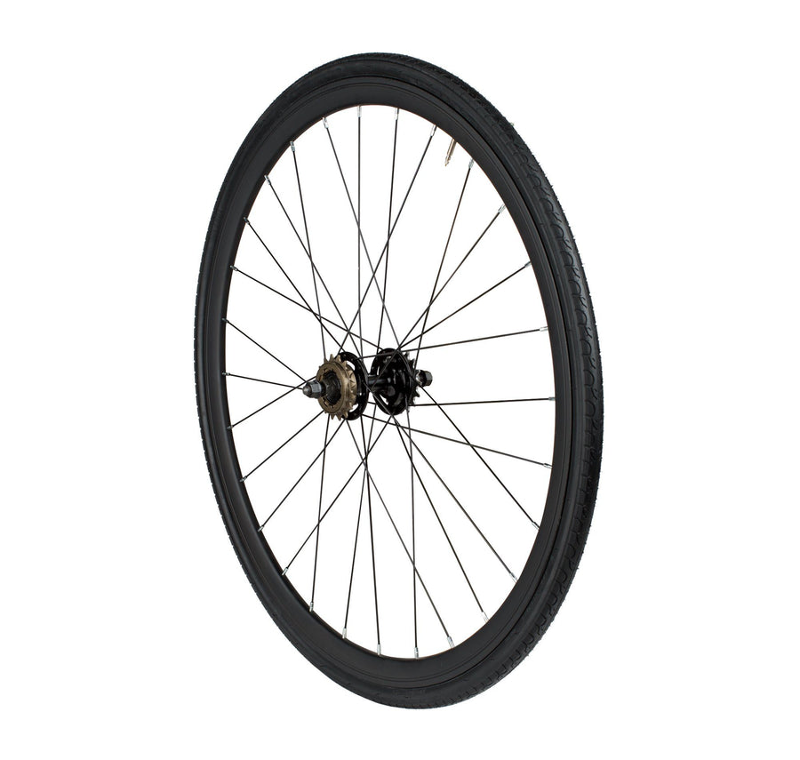 6KU Urban Track Rear Wheel, Black
