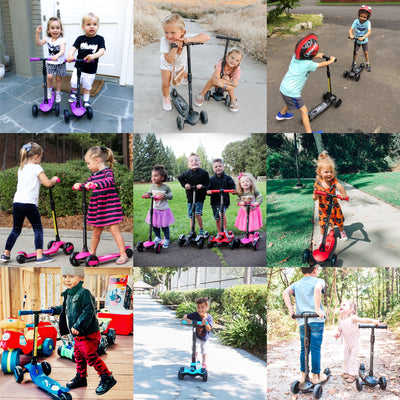 6KU Kick Scooter for 3-8 years old