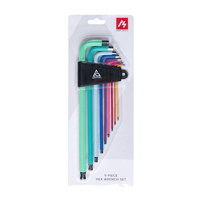 Avant Sports 9-Piece Hex Wrench Color Coated Set