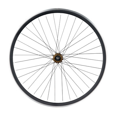 6KU Wheelset 30MM, 36 Holes, Black