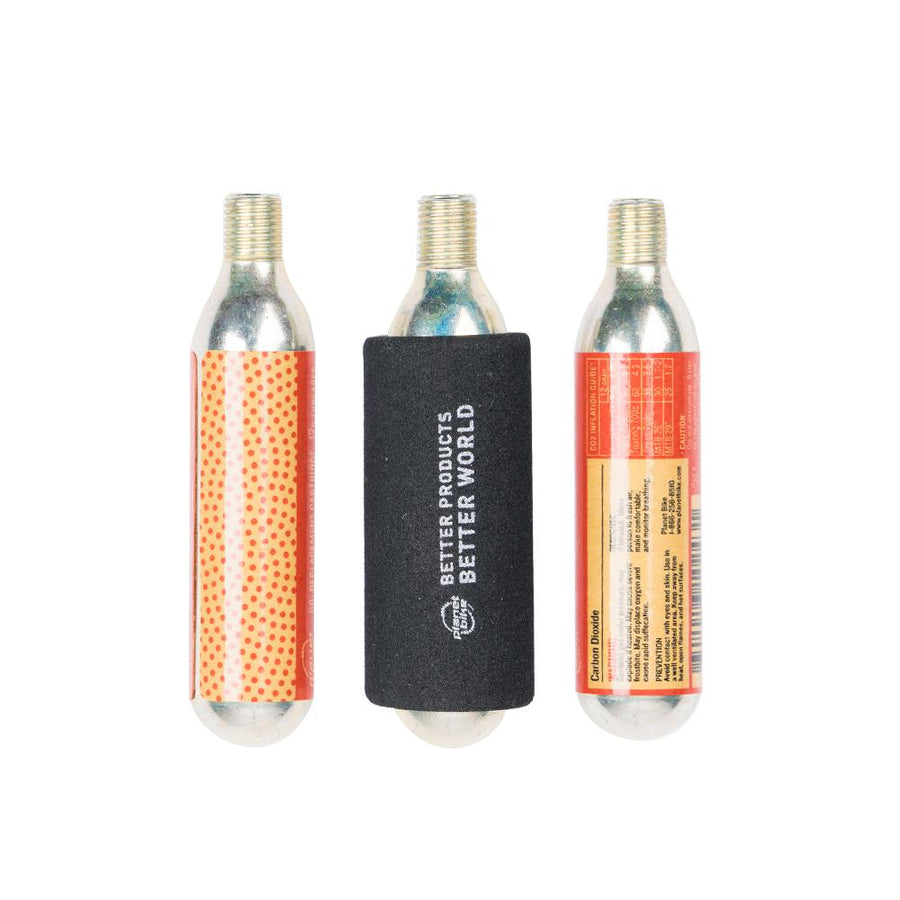Planet Bike 12g Threaded CO2 Cartridges: 3-Pack