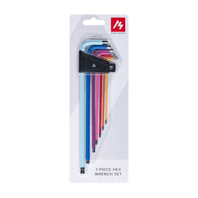 Avant Sports 7-Piece Hex Wrench Color Coated Set