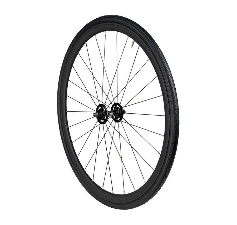 6KU Urban Track Front Wheel, Black