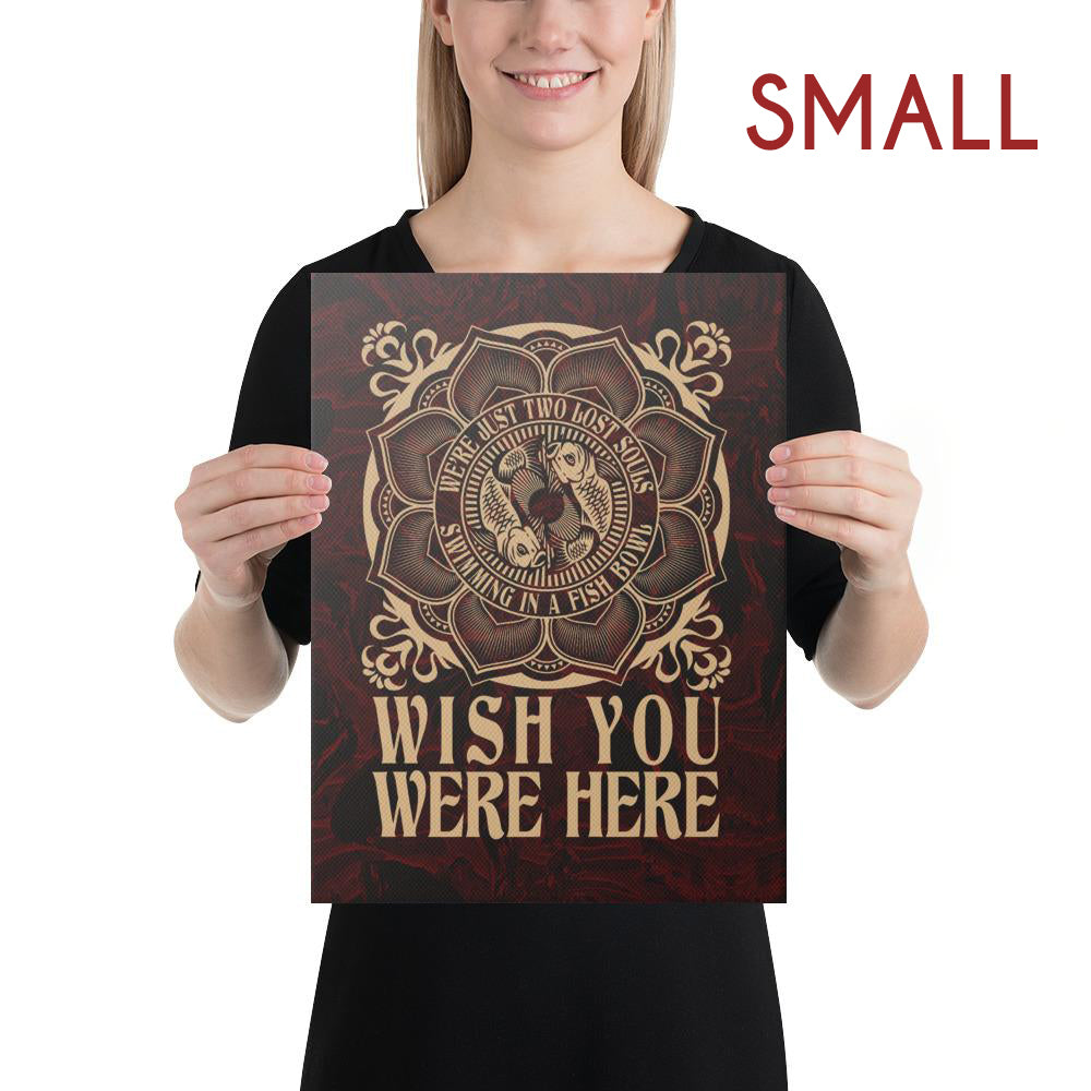 Pink Floyd - Wish You Were Here - Canvas