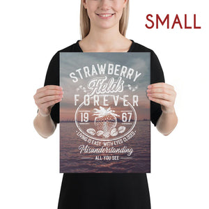 The Beatles - Strawberry Fields Forever - Small Canvas 2