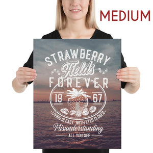 The Beatles - Strawberry Fields Forever - Medium Canvas 2
