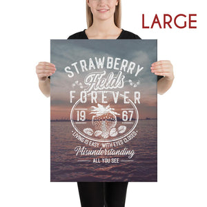The Beatles - Strawberry Fields Forever - Large Canvas 2