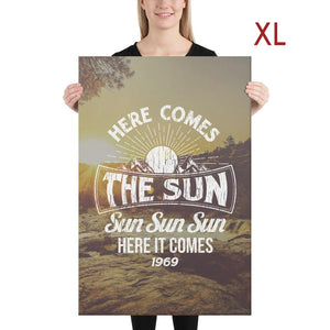 The Beatles - Here Comes The Sun - Extra Large Canvas 2