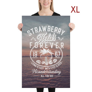 The Beatles - Strawberry Fields Forever - Extra Large Canvas 2