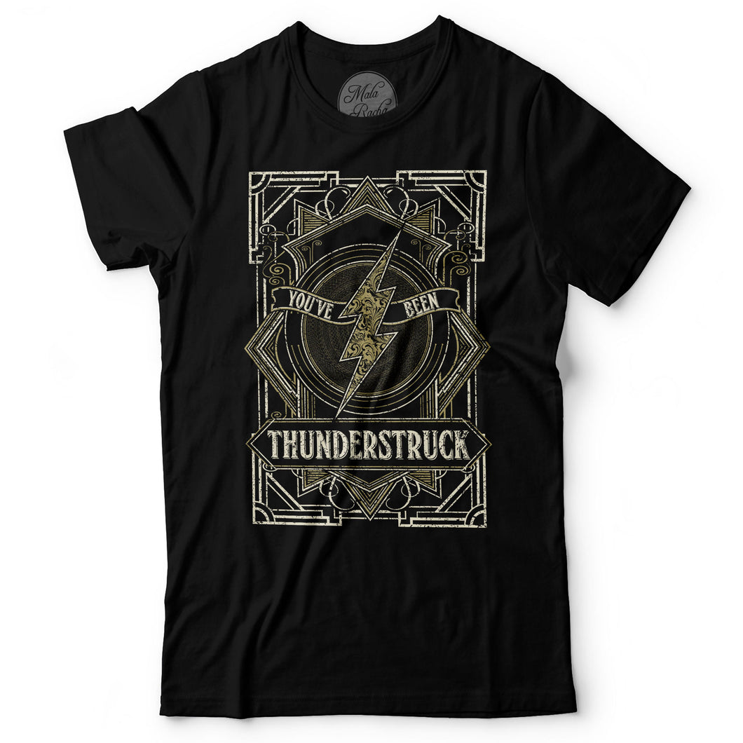 AC/DC - Thunderstruck - Men's T-Shirt Black
