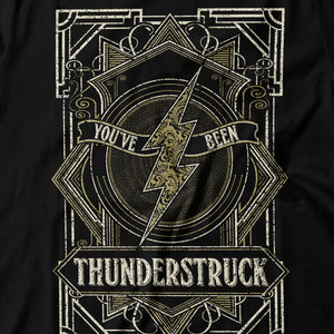 AC/DC - Thunderstruck - Men's T-Shirt Detail