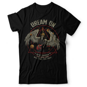Aerosmith - Dream On - Men's T-shirt Black