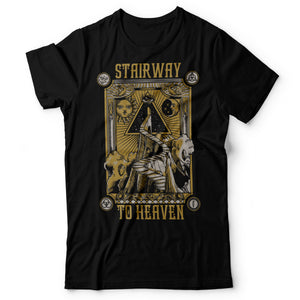 Led Zeppelin - Stairway To Heaven - Men's T-Shirt Black