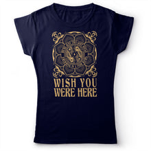 Load image into Gallery viewer, Pink Floyd - Wish You Were Here - Women's t-shirt Navy Blue 2