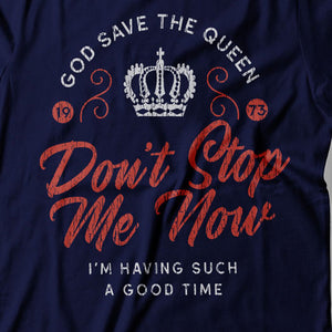 Queen - Don't Stop Me Now - Women's T-Shirt Detail