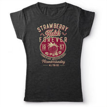 Load image into Gallery viewer, The Beatles - Strawberry Fields Forever - Women's T-Shirt Dark Gray 2