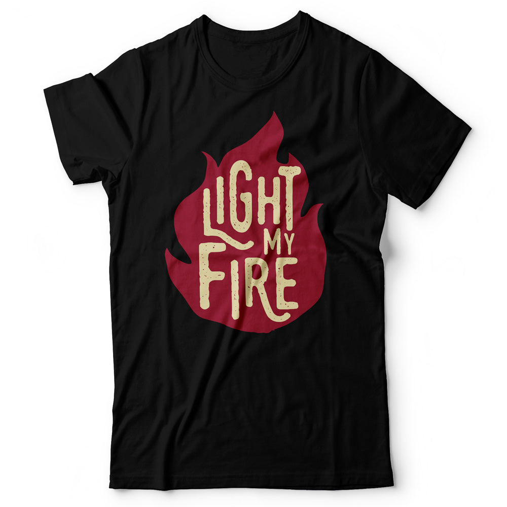 The Doors - Light My Fire - Men's T-Shirt Black