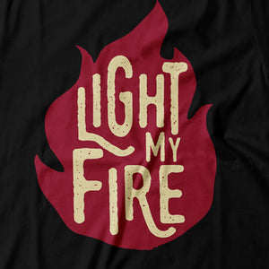 The Doors - Light My Fire - Women's T-Shirt Detail