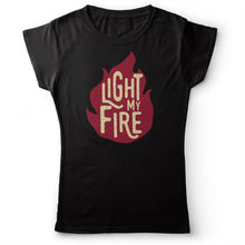 Load image into Gallery viewer, The Doors - Light My Fire - Women's T-Shirt Black 2