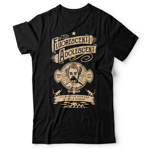 Arctic Monkeys - Fluorescent Adolescent - Men's T-Shirt Black