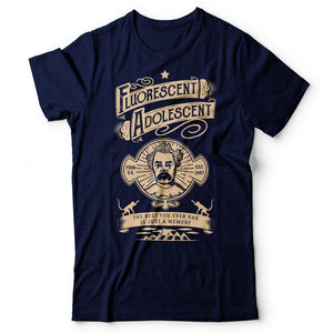 Arctic Monkeys - Fluorescent Adolescent - Men's T-Shirt Navy Blue