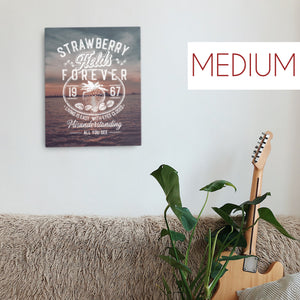 The Beatles - Strawberry Fields Forever - Medium Canvas