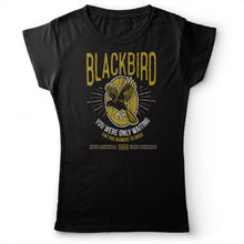Load image into Gallery viewer, The Beatles - Blackbird - Women's T-Shirt Black 2