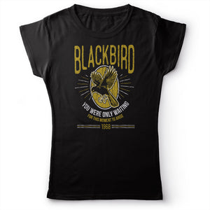 The Beatles - Blackbird - Women's T-Shirt Black 2