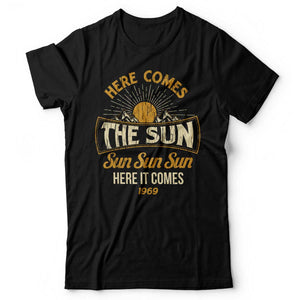 The Beatles - Here Comes The Sun - Men's T-Shirt Black