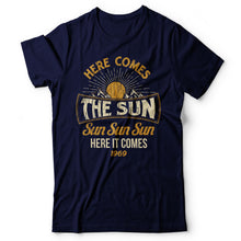 Load image into Gallery viewer, The Beatles - Here Comes The Sun - Men's T-Shirt Navy Blue