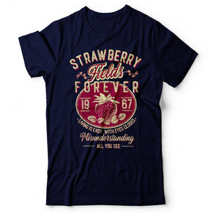 The Beatles - Strawberry Fields Forever - Men's T-Shirt