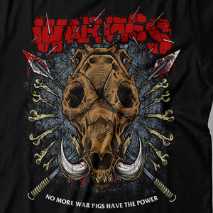 Black Sabbath - War Pigs - Men's T-shirt Detail