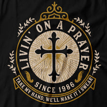 Load image into Gallery viewer, Bon Jovi - Livin' On A Prayer - Women's T-Shirt