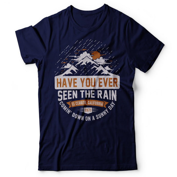 CCR - Have You Ever Seen The Rain? - Men's T-Shirt Navy Blue
