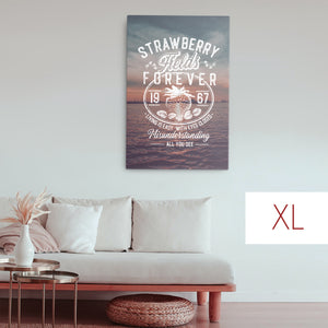 The Beatles - Strawberry Fields Forever - Extra Large Canvas
