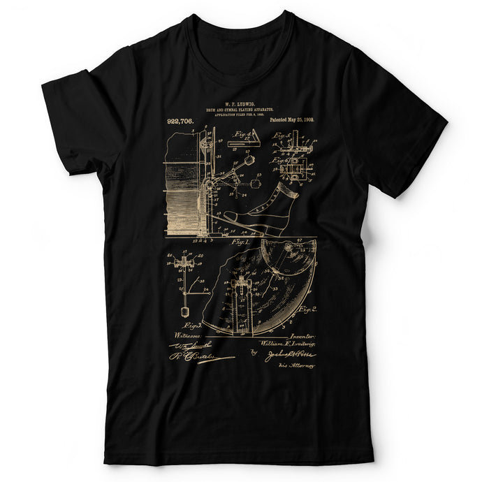 Drums Patent - Men's T-Shirt