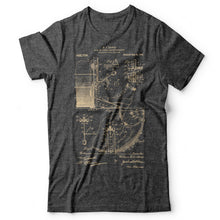 Load image into Gallery viewer, Drums Patent - Men's T-Shirt Gray