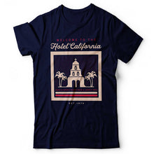 Load image into Gallery viewer, Eagles - Hotel California - Men's T-Shirt Navy Blue