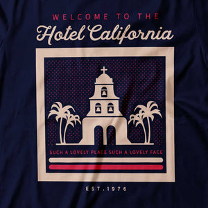Eagles - Hotel California - Women's T-Shirt Detail
