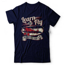 Load image into Gallery viewer, Foo Fighters - Learn To Fly - Men's T-shirt Navy Blue