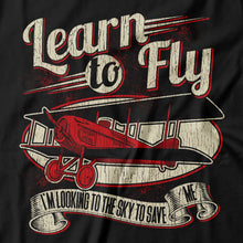 Load image into Gallery viewer, Foo Fighters - Learn To Fly - Men's T-shirt Detail