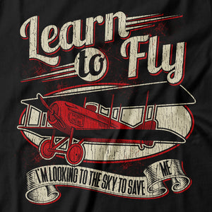 Foo Fighters - Learn To Fly - Men's T-shirt Detail