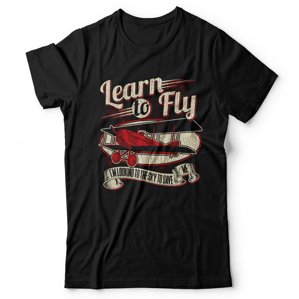 Foo Fighters - Learn To Fly - Men's T-shirt Black