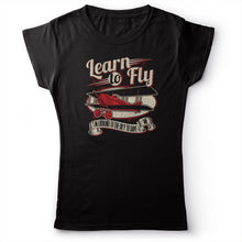 Load image into Gallery viewer, Foo Fighters - Learn To Fly - Women's T-shirt